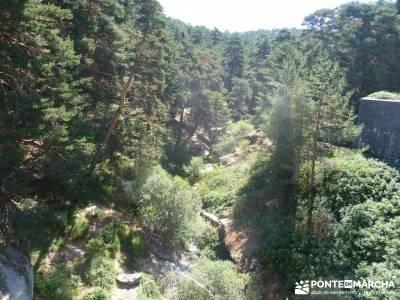 Pesquerías Reales y Fuentes de La Granja;senderismo en madrid rutas excursiones senderismo madrid